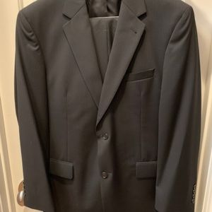 Jos. A. Bank Black Pinstripe Suit - Coat 41 R